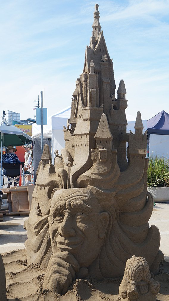 Us Sand Sculpting Competition 2013 San Diego Phelan Riessen