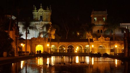 Balboa Park at Night